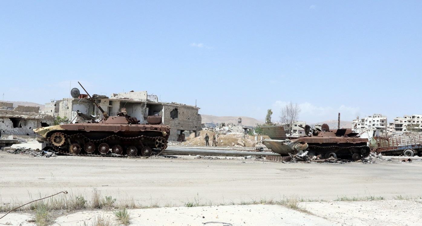 Regimul al-Assad a recucerit complet Ghouta de est, chiar în ziua atacului american
