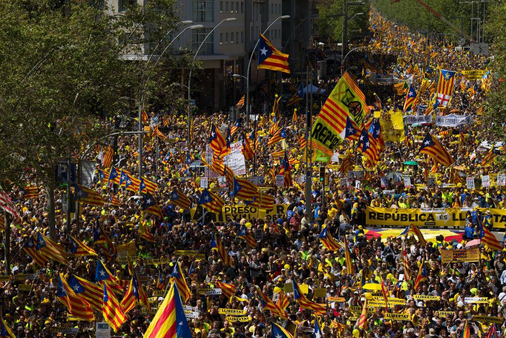 Catalonia intră din nou în conflict cu guvernul spaniol. Se cere abolirea monarhiei