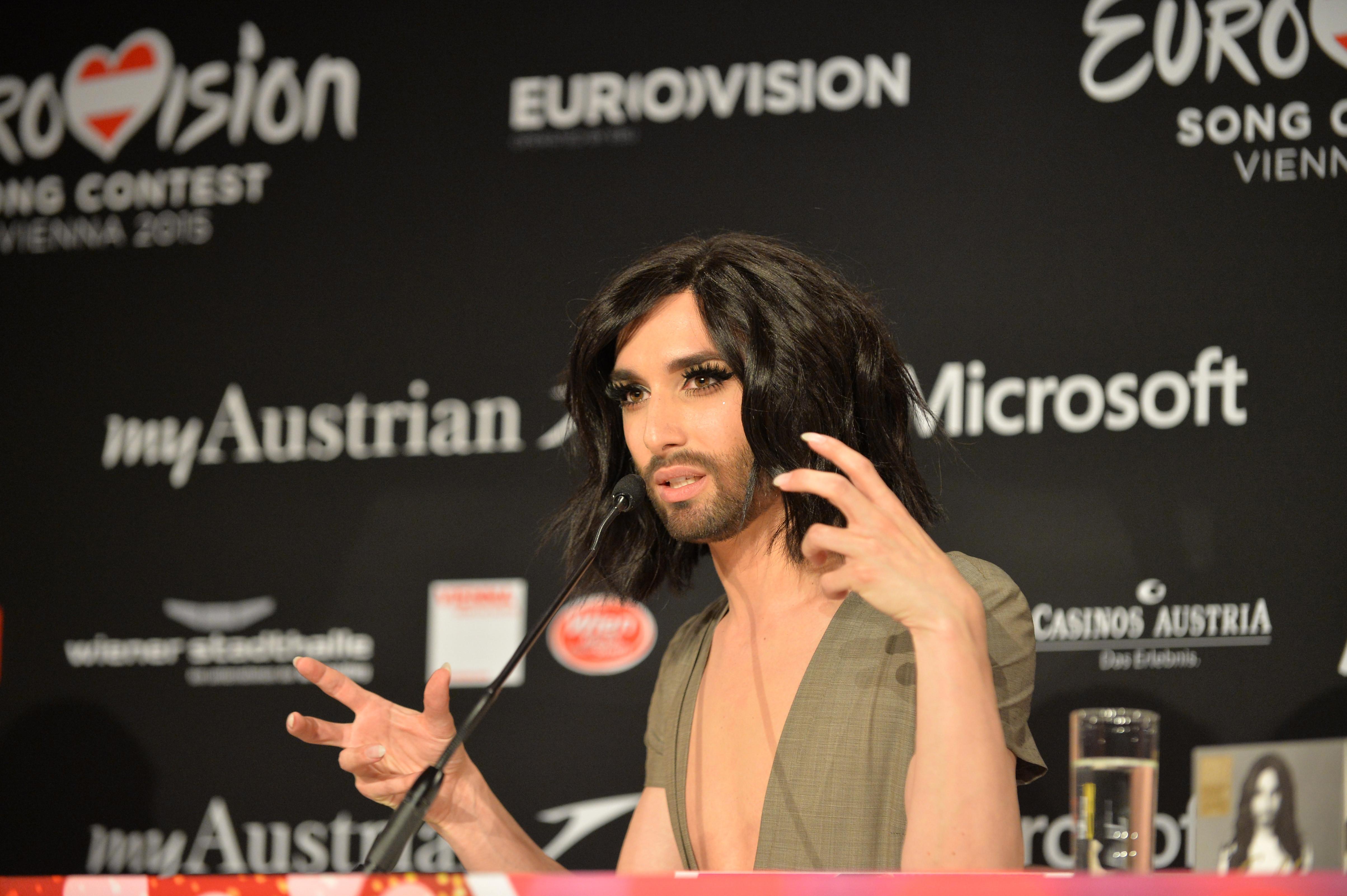 Conchita Wurst, câştigătoarea Eurovision, a anunţat că suferă de HIV
