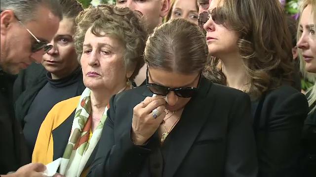 """Ionela Prodan a fost înmormântată. Gigi Becali: """"Important e unde pleci"""""""