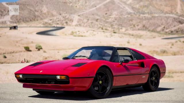 Ferrari din 1978, cu propulsie electrică, scos la licitație