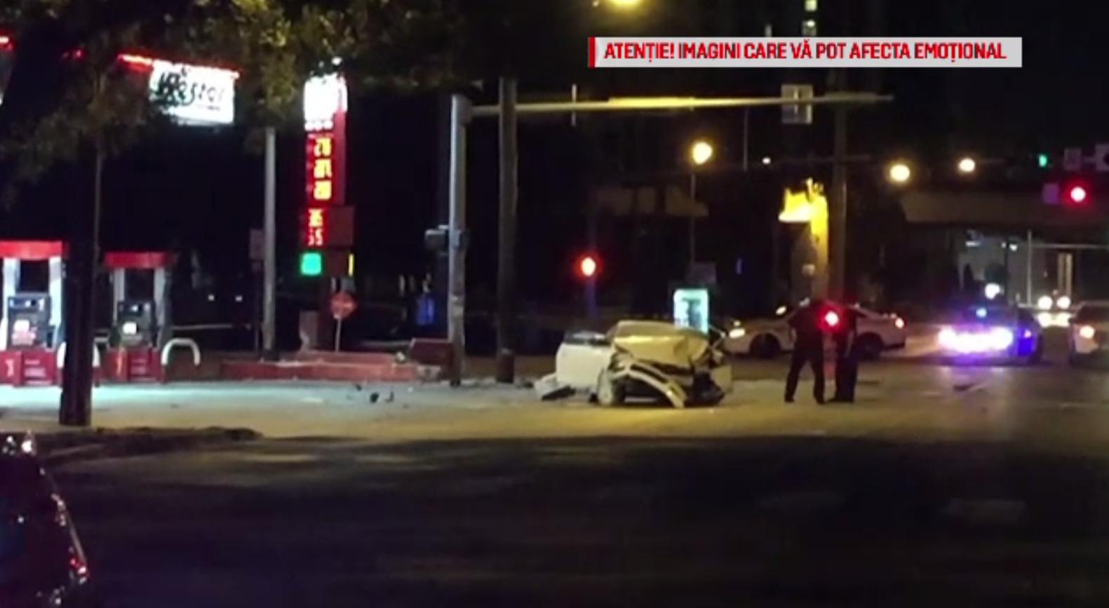 Șofer mort, după ce a pierdut controlul mașinii și s-a izbit puternic de un panou