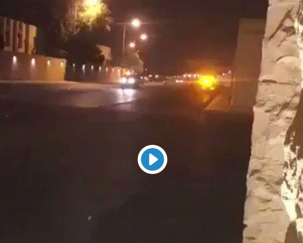 Mini-dronă, doborâtă cu focuri de armă lângă palatul regal din Riad. VIDEO