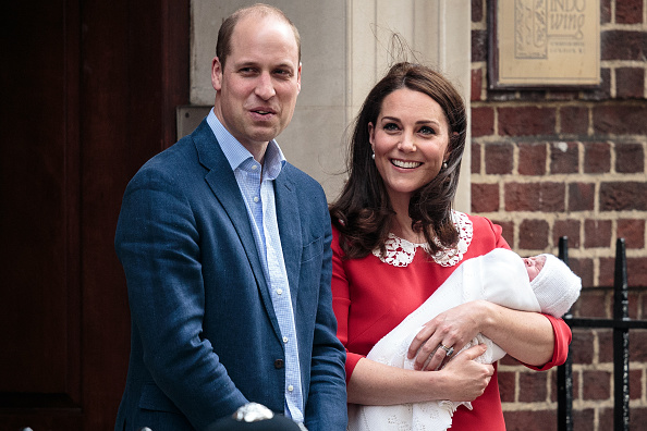 Prinţul William şi Ducesa de Cambridge au ales numele băieţelului nou-născut