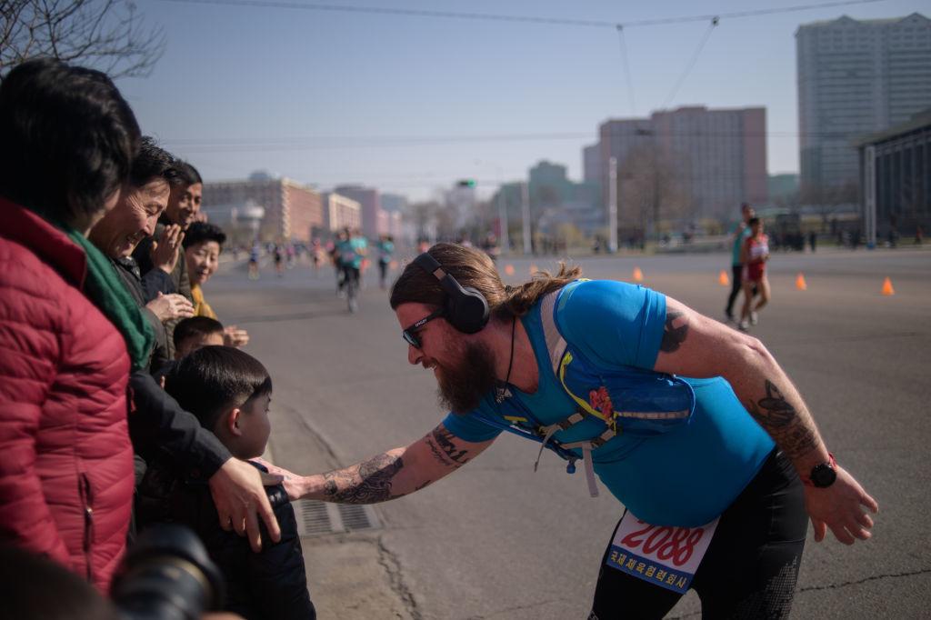 """Evenimentul din Phenian la care au participat aproape 1.000 de străini. """"Atmosferă grozavă"""""""