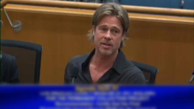 """Brad Pitt, """"certat"""" de un oficial al primăriei din LA: """"Vă rog să încheiați"""""""