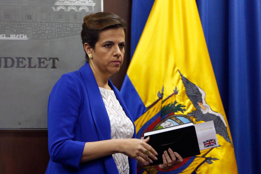 Ecuadorul denunţă un plan de destabilizare pregătit de un apropiat al lui Assange şi hackeri ruşi