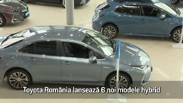 (P) Toyota România lansează 6 noi modele hybrid