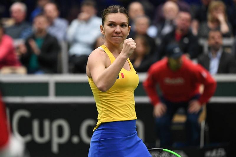 Fed Cup Franța - România. Adversara Simonei Halep în primul meci. VIDEO