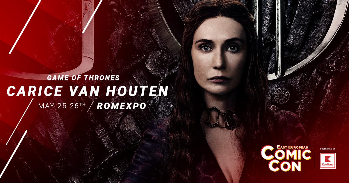 """""""Melissandre"""" din serialul Game of Thrones vine la East European Comic Con, la București"""