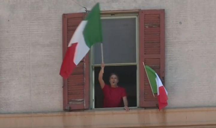 VIDEO. Italienii au cântat