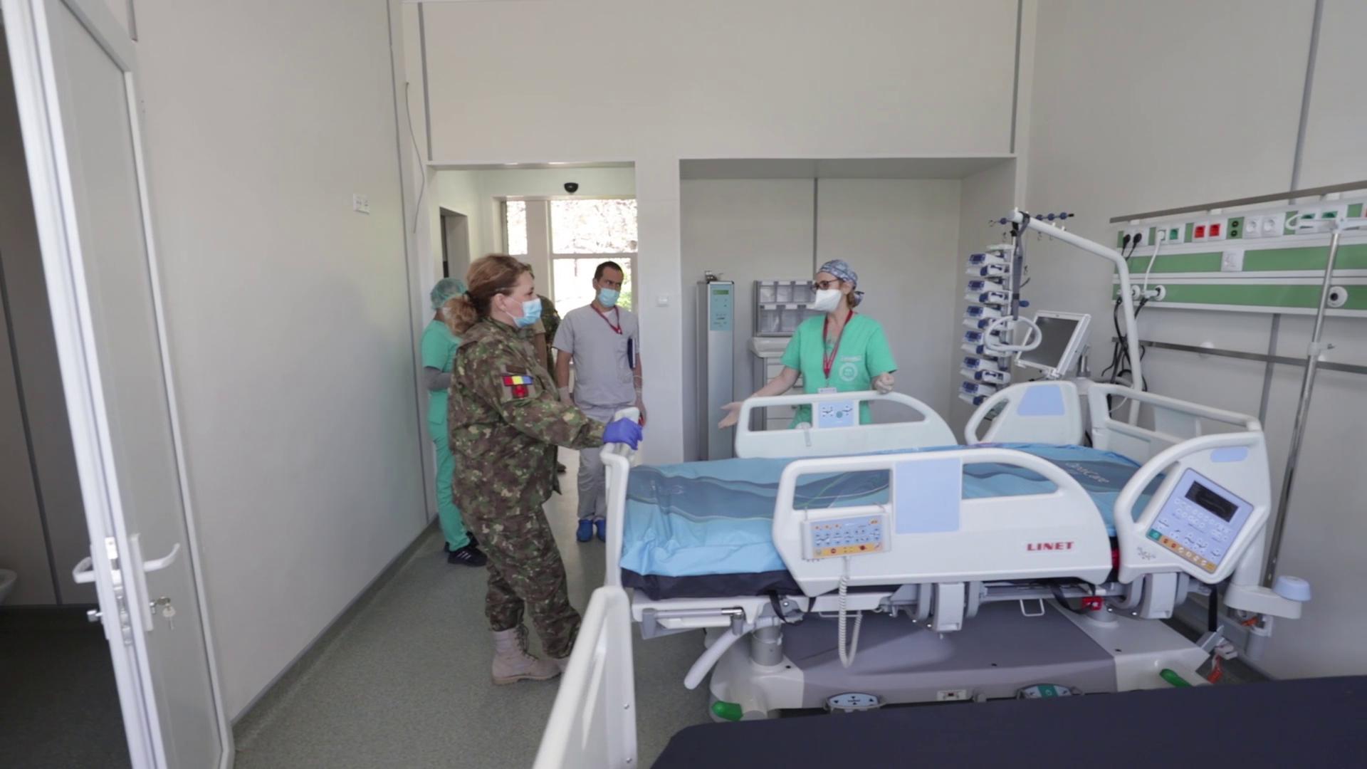 Se reiau internările la Spitalul Militar ROL 2 din București. Anunțul făcut de MApN