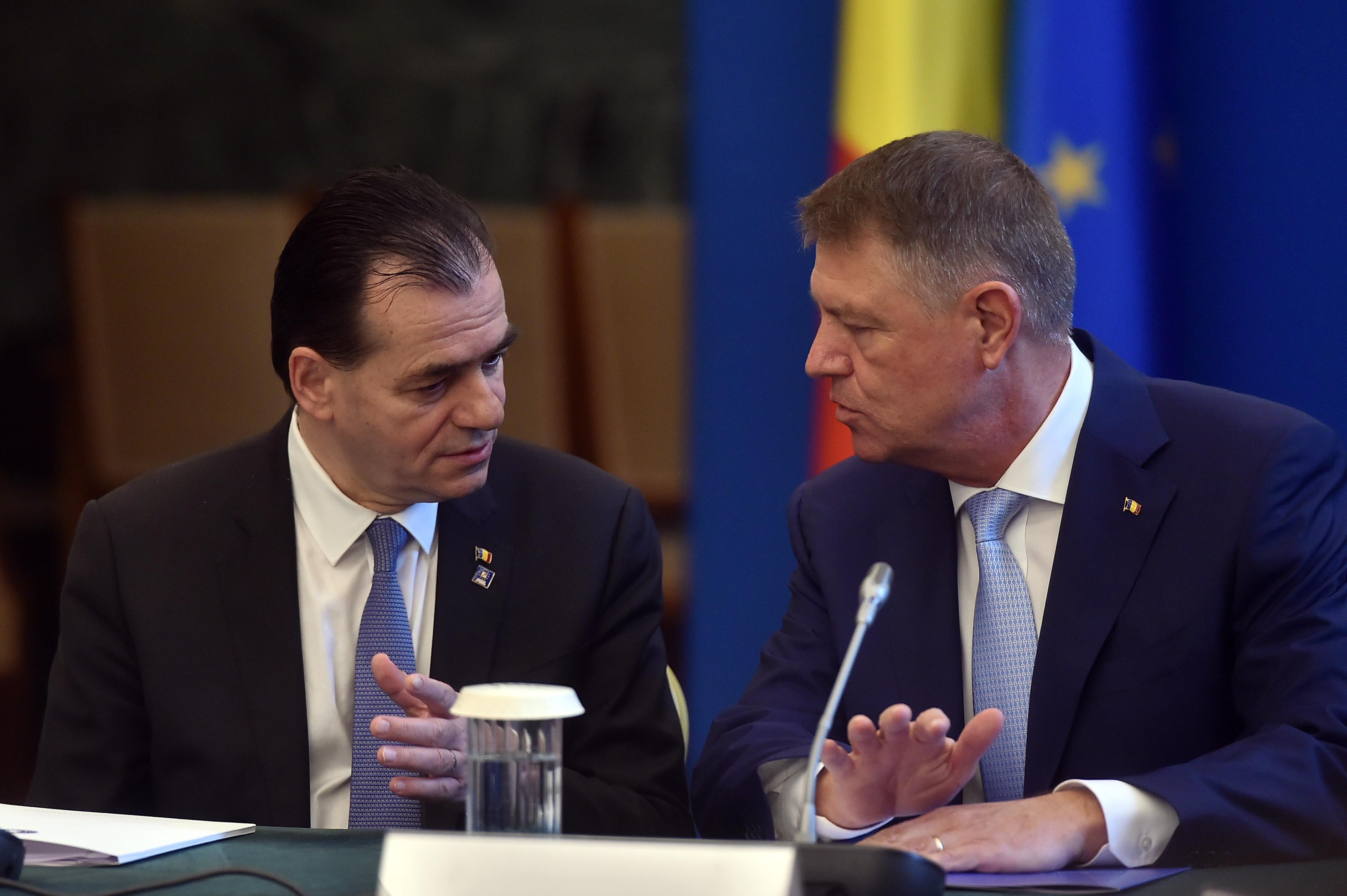 Surse: Ludovic Orban va avea marți o întâlnire cu preşedintele Klaus Iohannis. Ce vor discuta