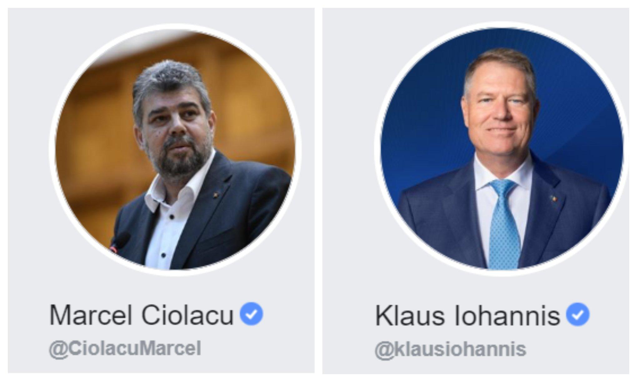 """""""Razboiul"""" Ciolacu-Iohannis a ajuns si pe Facebook. Comentarii la scandalul Tinutul Secuiesc"""