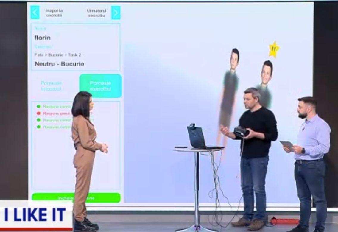 ILikeIT. Terapia copiilor cu autism, cu ajutorul unei aplicații VR. Poate fi utilizată și de părinți