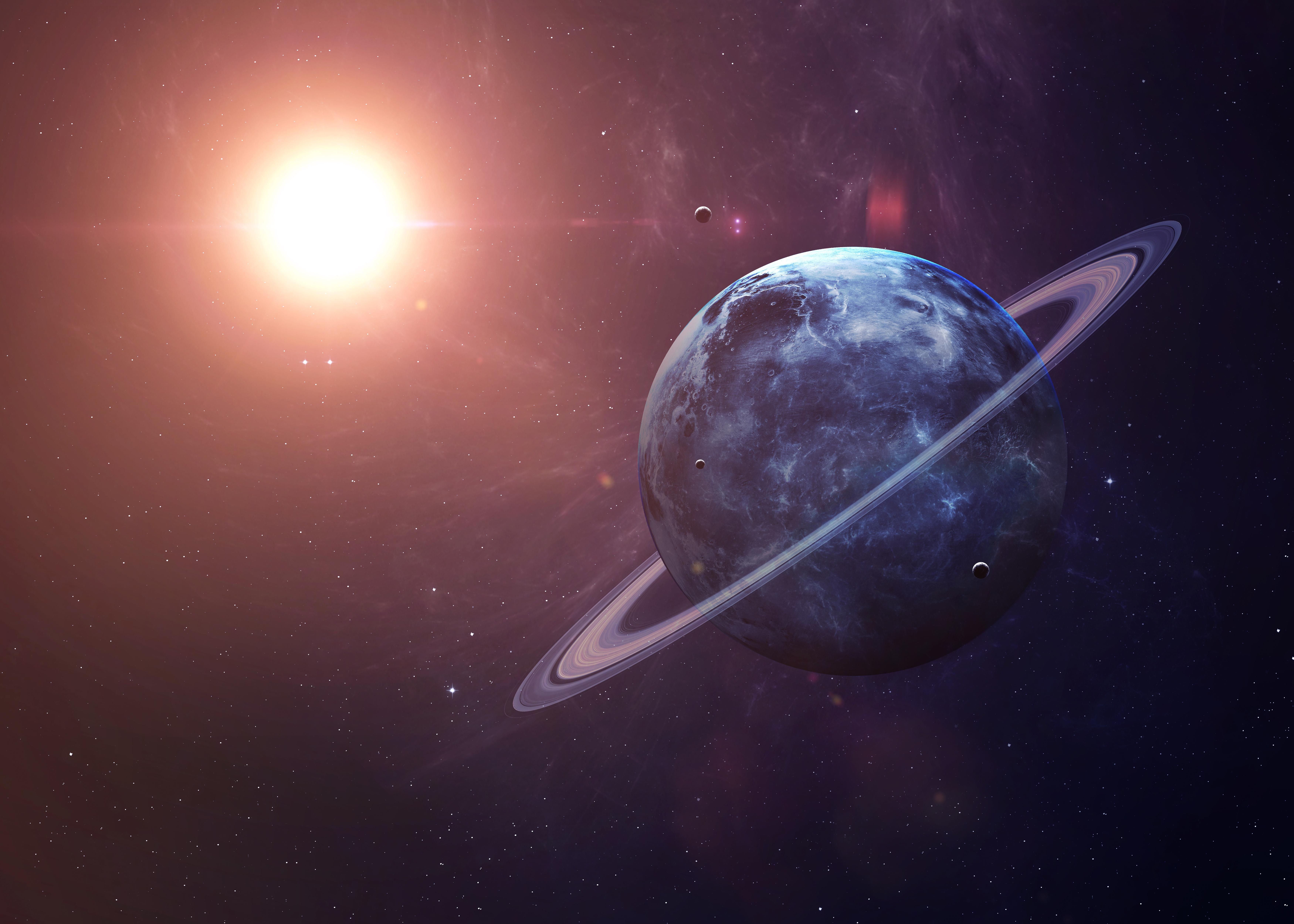 Oamenii de știință au detectat raze X care provin de la Uranus, pentru prima dată