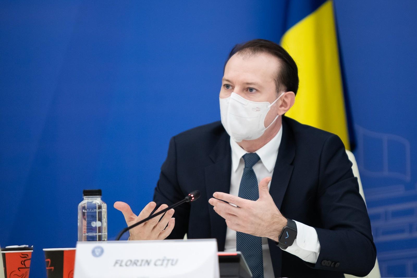Florin Cîţu: Certificatul verde digital va fi operaţional de la 1 iulie