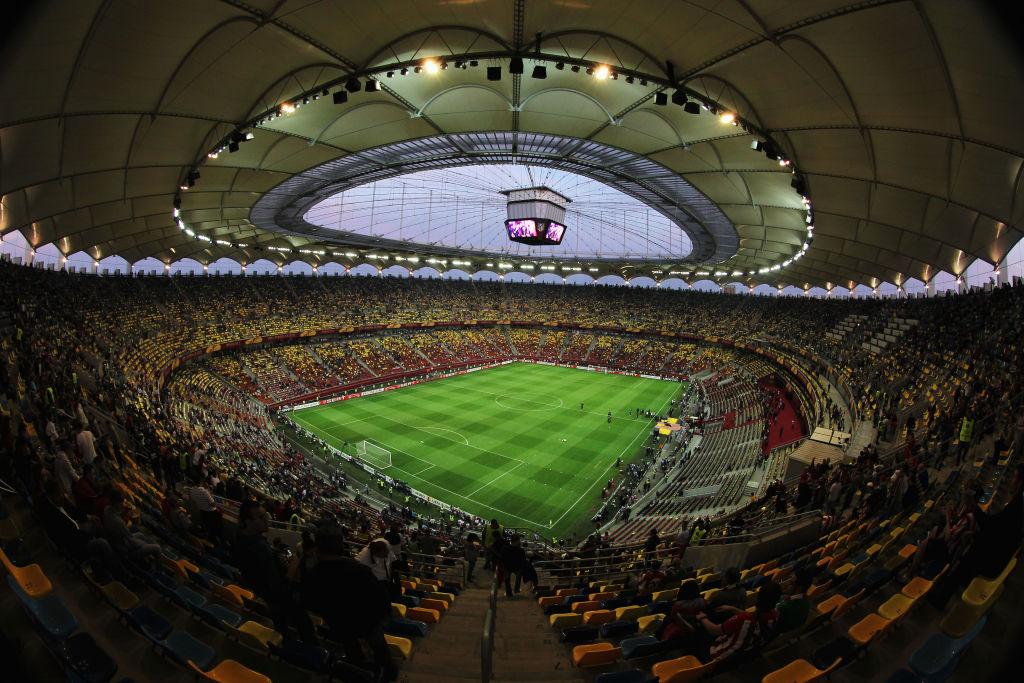 Instalaţia de nocturnă a Arenei Naţionale a fost modernizată înaintea începerii EURO 2020