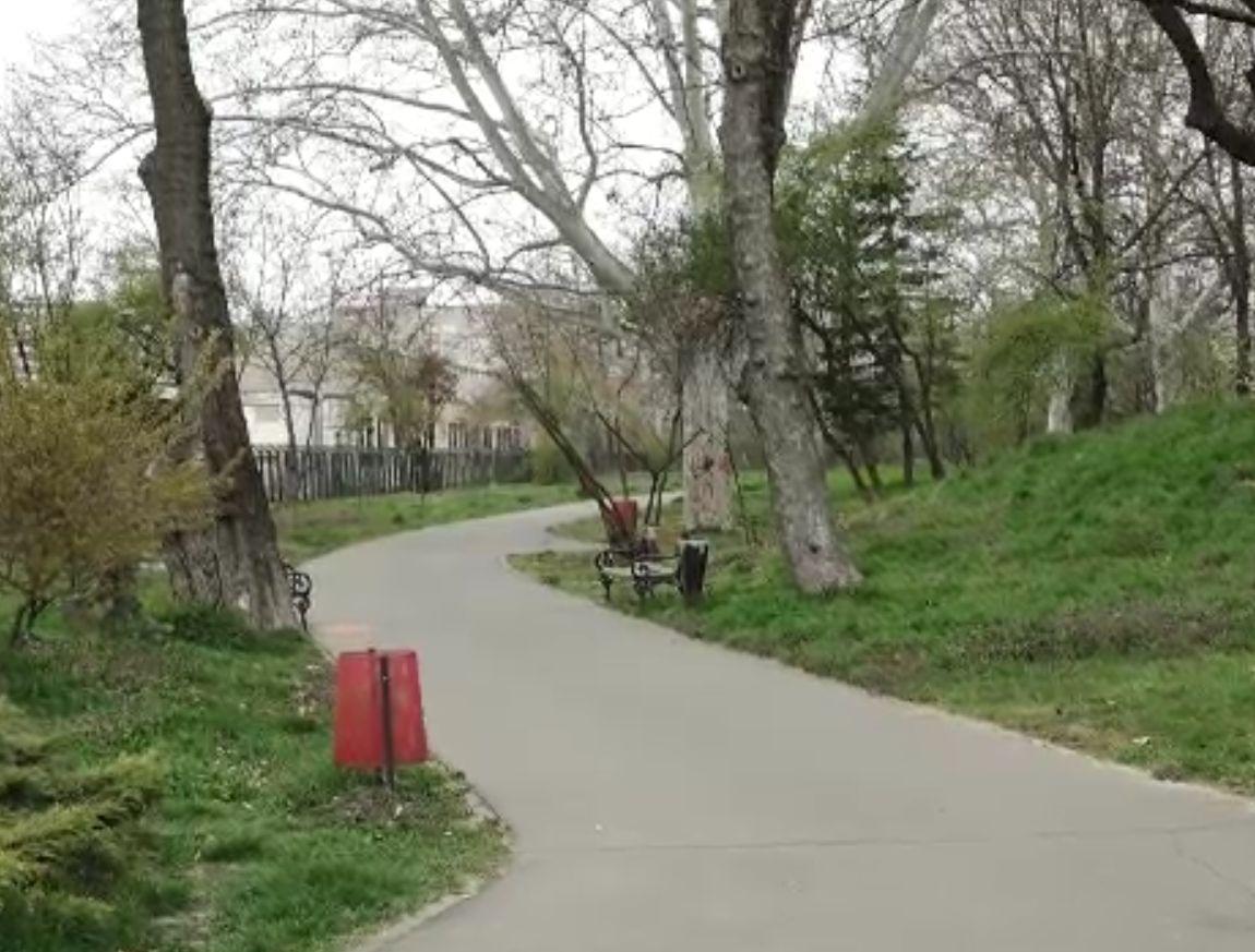 Tânără atacată într-un parc din Timișoara de un necunoscut. A pus-o la pământ și a strâns-o de gât