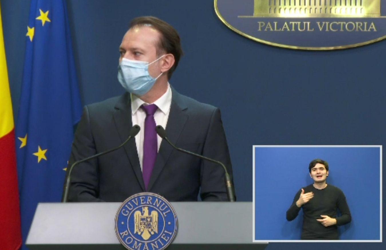 Sectorul HORECA se poate redeschide cât mai curând dacă își vaccinează angajații, spune Florin Cîțu