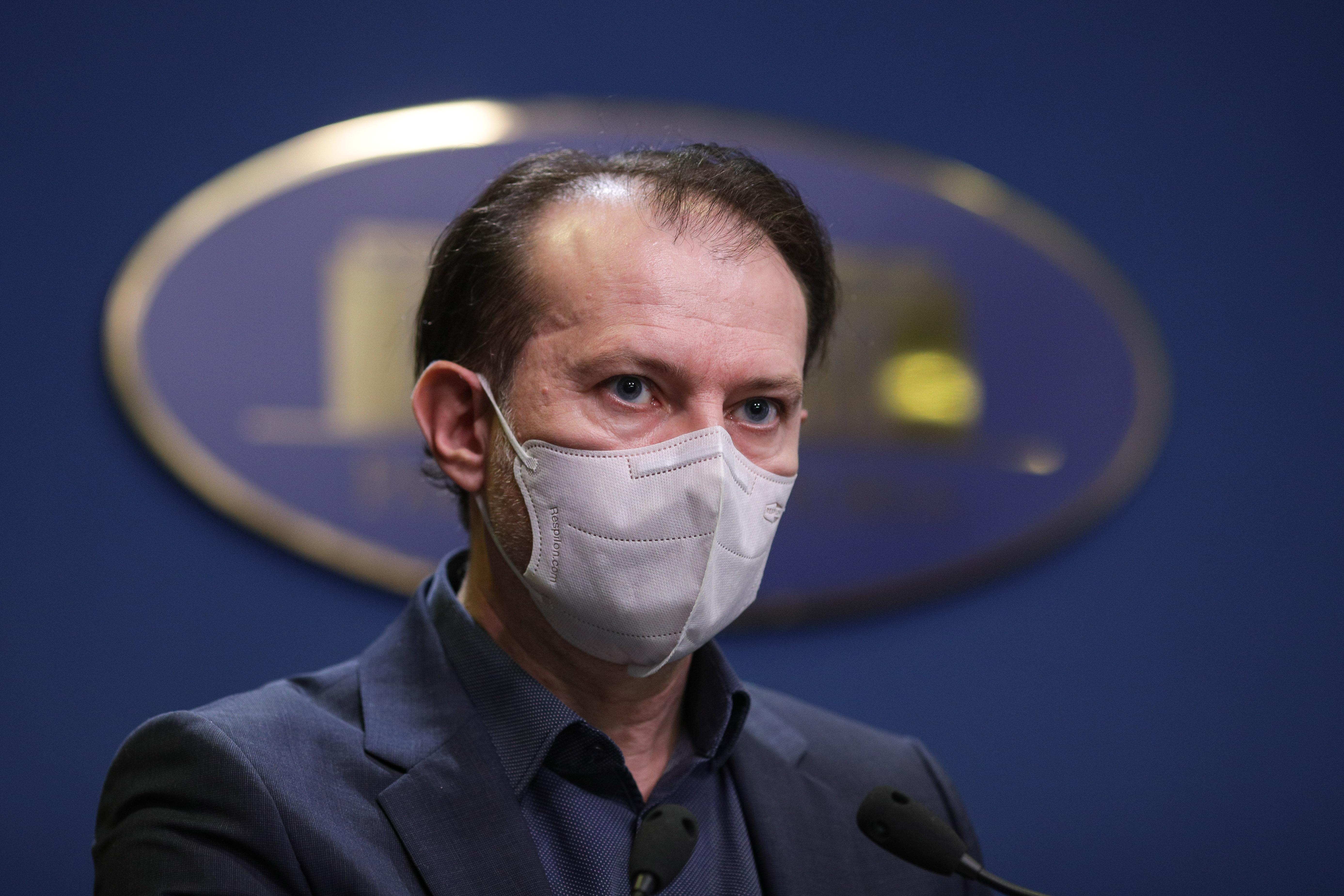 Cîţu: Aştept desemnarea ministrului Sănătăţii de la USR PLUS; discuţiile politice - în coaliţie