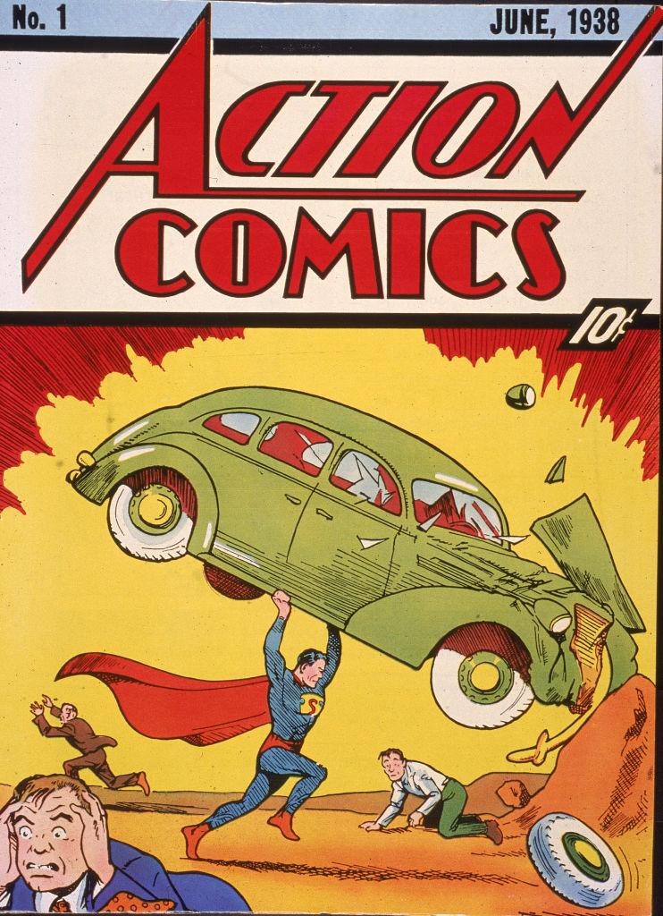 O ediţie rară Action Comics în care a apărut prima dată Superman, vândută pentru o sumă record