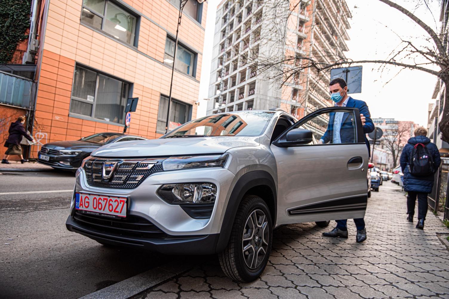 Ministrul Mediului a testat Dacia Spring. Ce a spus despre experiența trăită
