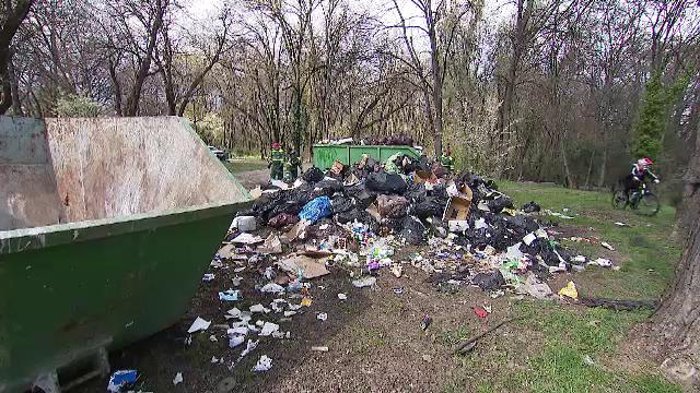 Parcul Herăstrău riscă să devină groapă de gunoi. Chiar firma de salubritate ar fi de vină