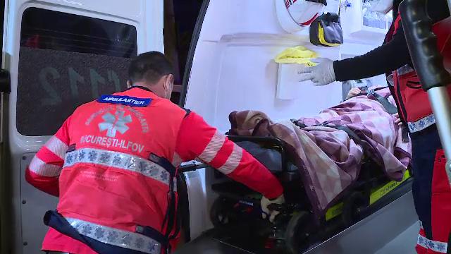 Un băiat de 17 ani și tatăl său, răniți după un incendiu. Tânărul are arsuri grave