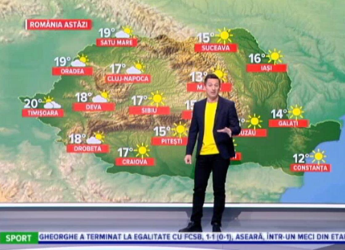 Vremea azi, 11 aprilie. Temperaturi cu adevărat de primăvară. Care vor fi maximele termice