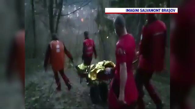 Salvamontiștii din Brașov, chemați de un bărbat care acuza stări de leşin. Ce avea, de fapt