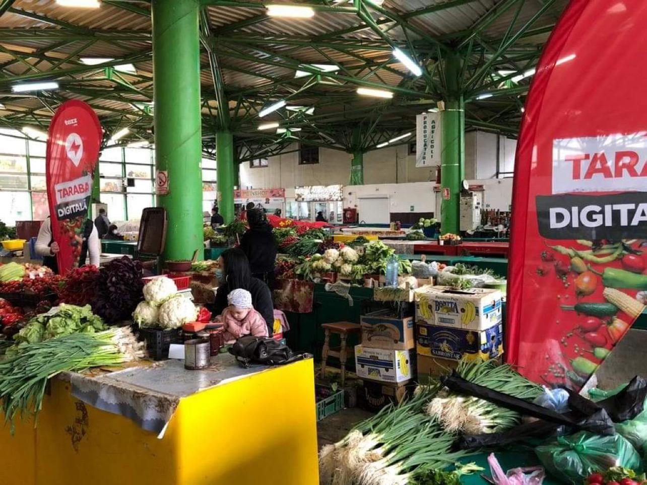 """(P) Tazz by eMAG livrează la ușa clienților legume și fructe proaspete direct din piață prin """"Taraba digitală"""""""