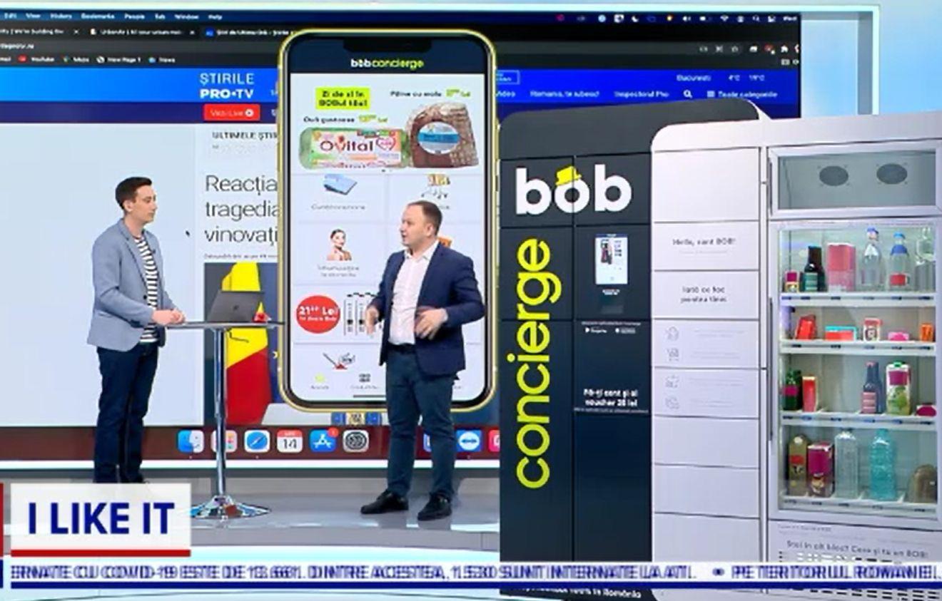 ILikeIT. Bob Concierge, asistentul inteligent din scara de bloc. Ideea inovatoare care te scutește de drumul la supermarket
