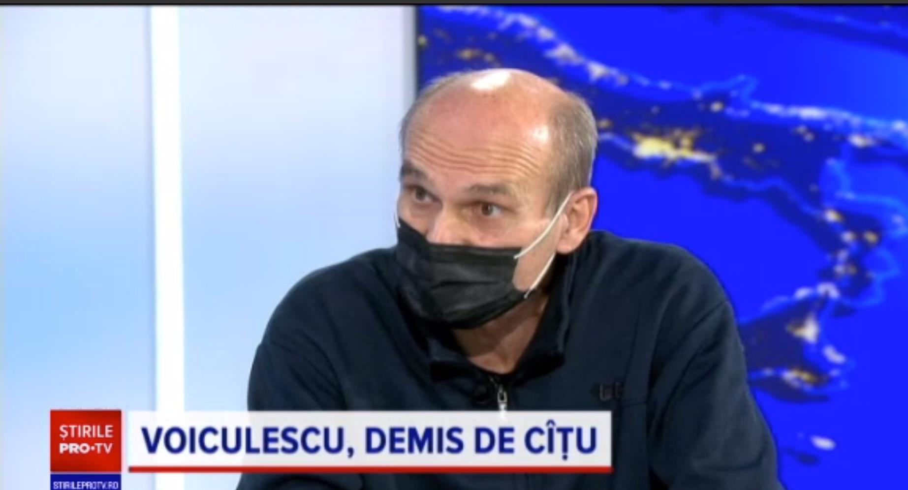 CTP: Problema principală a lui Vlad Voiculescu a fost lipsa de interes față de oameni și față de bolnavi