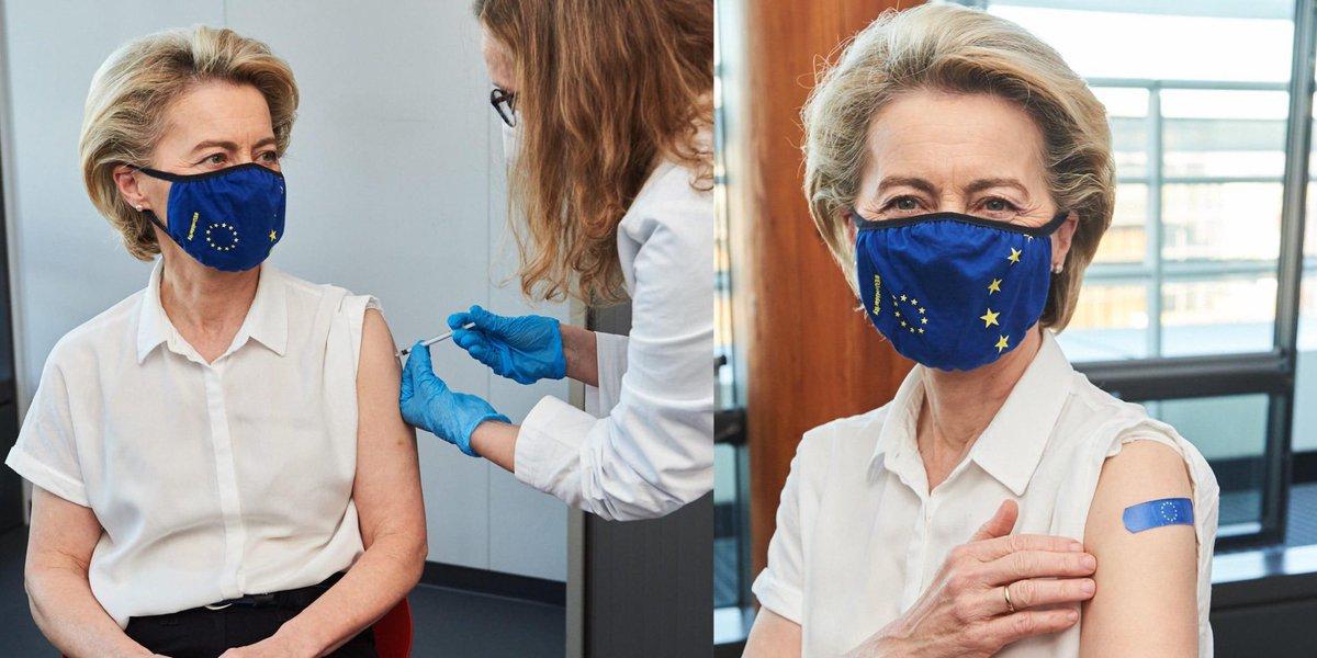 Ursula von der Leyen, vaccinată anti-COVID. Ce ser a primit președinta Comisiei Europene