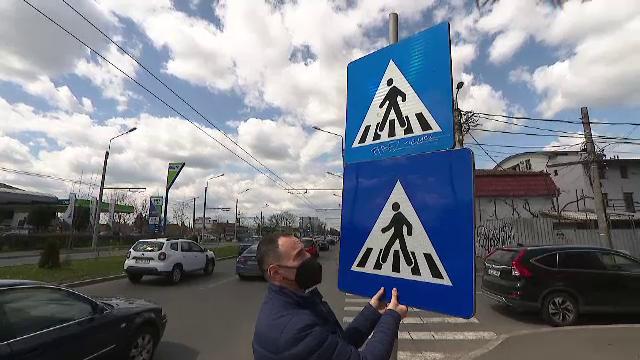 Indicatoarele rutiere care pun în pericol viețile oamenilor. Cele mai multe sunt neconforme