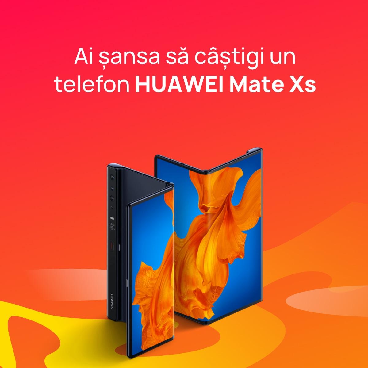 Noul magazin online Huawei Store se lansează în România. Marele premiu: un HUAWEI Mate Xs pliabil de peste 2.000 euro