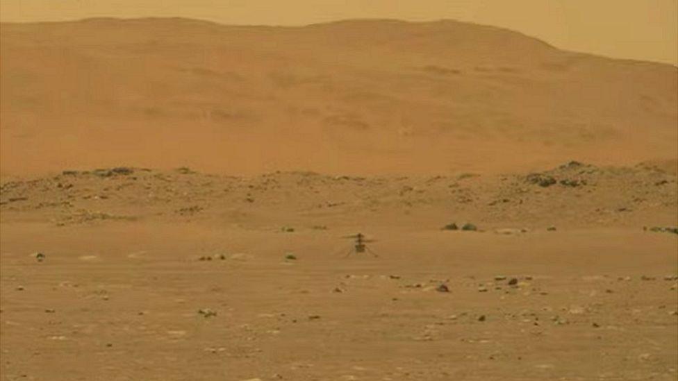 Mini-elicopterul Ingenuity al NASA scrie istorie după efectuarea primului zbor pe Marte