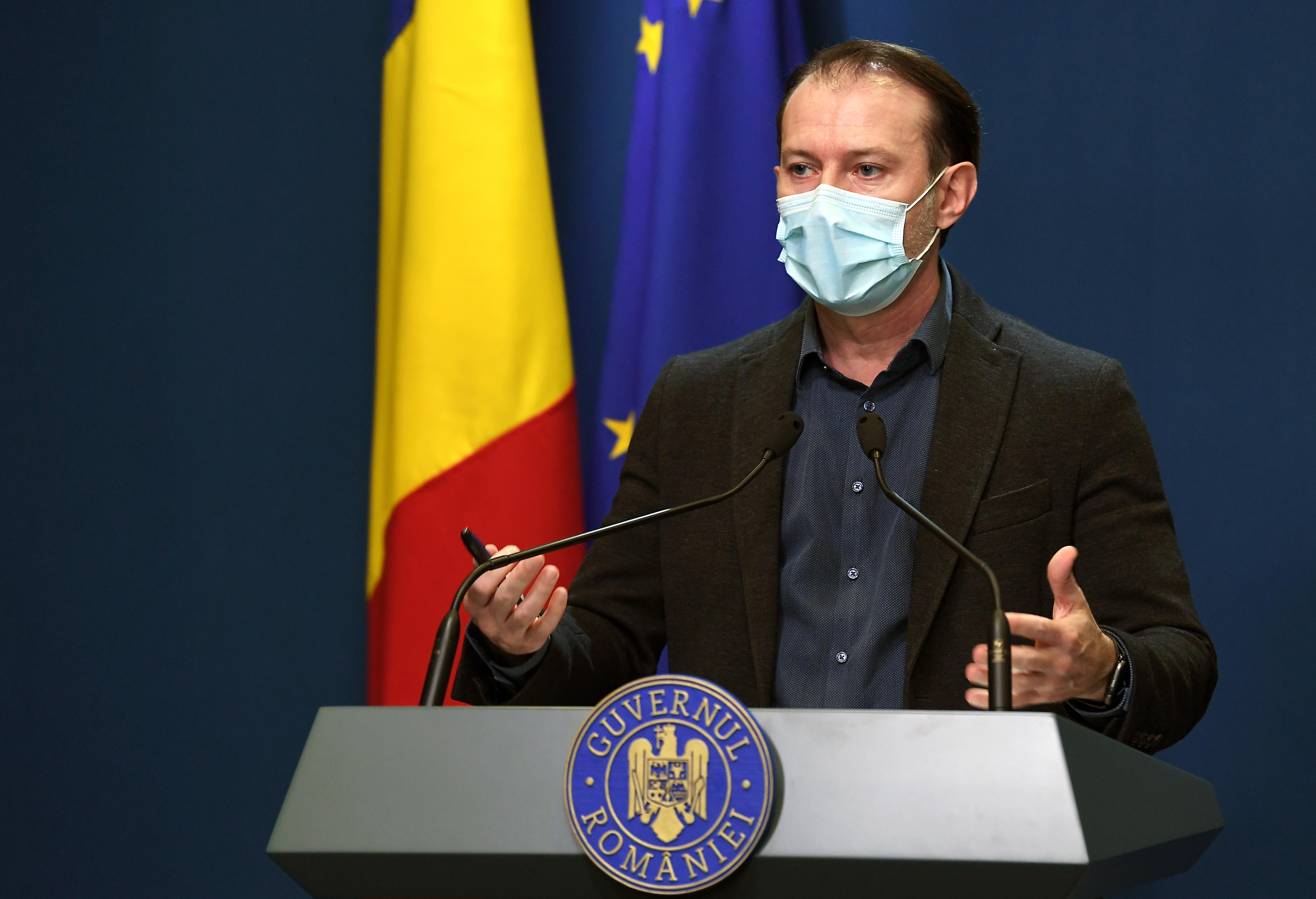 Cîţu, referitor la diferenţele de raportare a deceselor COVID-19: Au existat în toate ţările UE