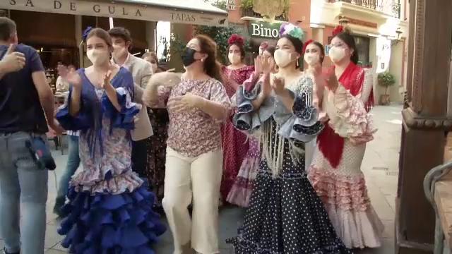Cel mai mare târg dedicat dansului flamenco, deschis la Sevilla. Nu pot participa mai mult de 600 de persoane