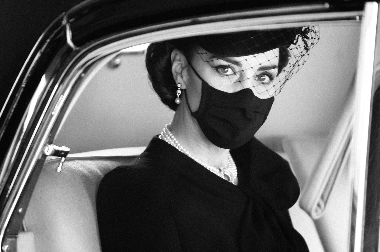 Gest deosebit al lui Kate Middleton la înmormântarea Prințului Philip, cu valoare sentimentală