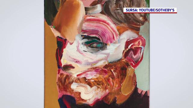 Două lucrări ale pictorului român Adrian Ghenie, vândute cu peste 6 milioane de euro