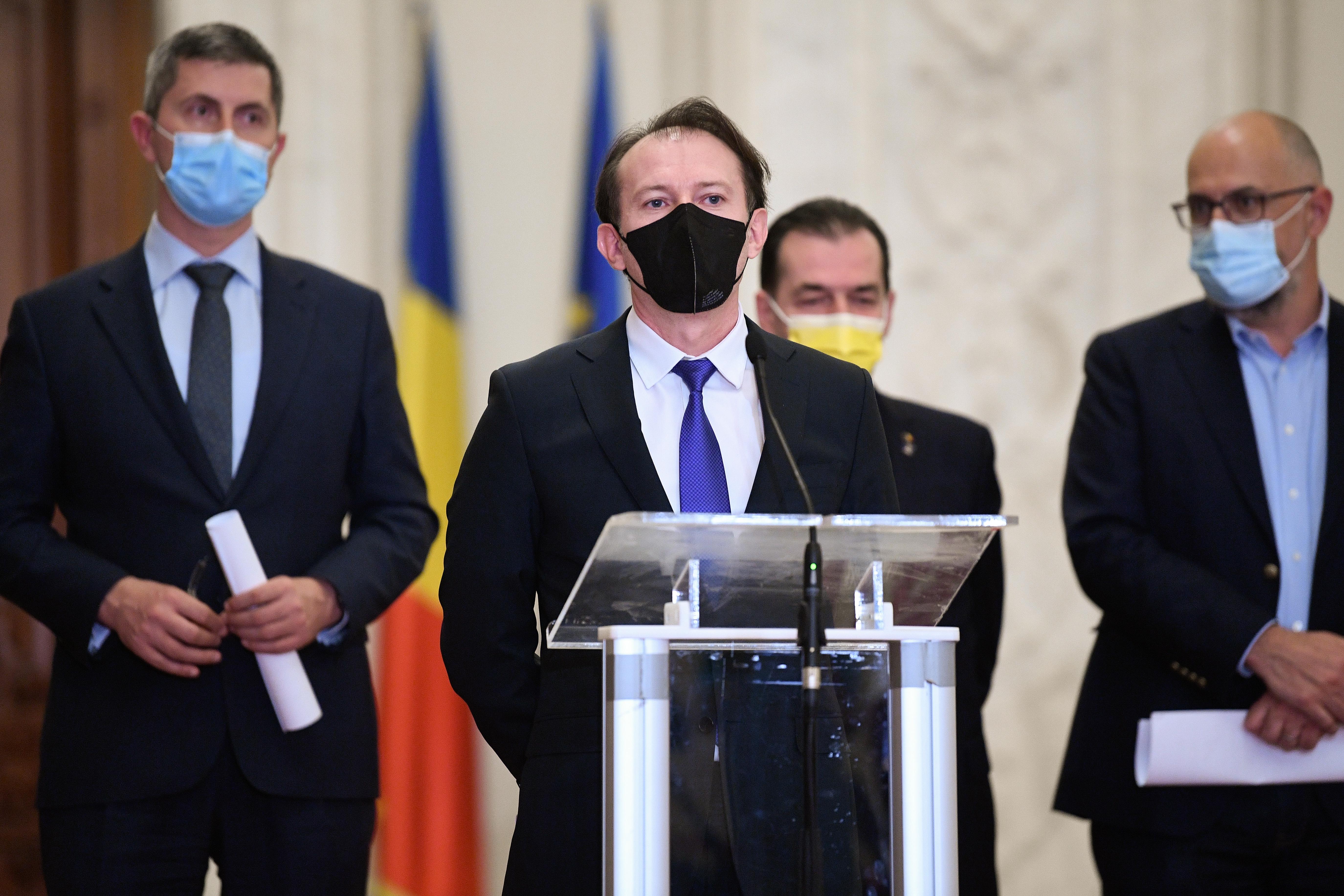 Florin Cîţu, după respingerea bugetului Capitalei: O să am o discuţie cu Dan Barna