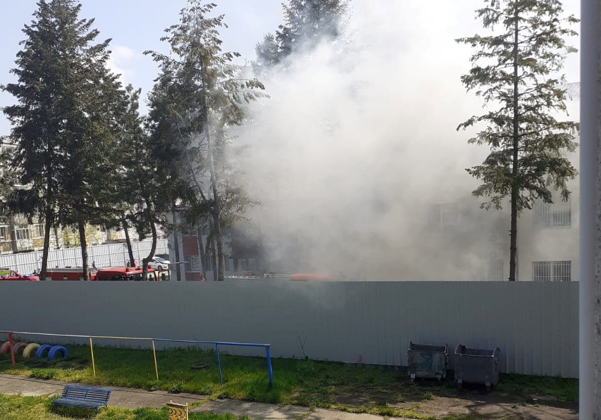 Pacienți intoxicați într-un incendiu la Secția de Psihiatrie a Spitalului Județean Slatina. Cum a pornit focul