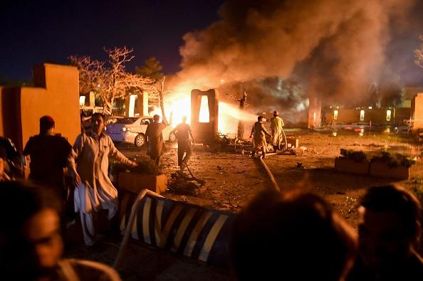 Cel puţin patru morţi într-un atac cu bombă la un hotel de lux din Pakistan