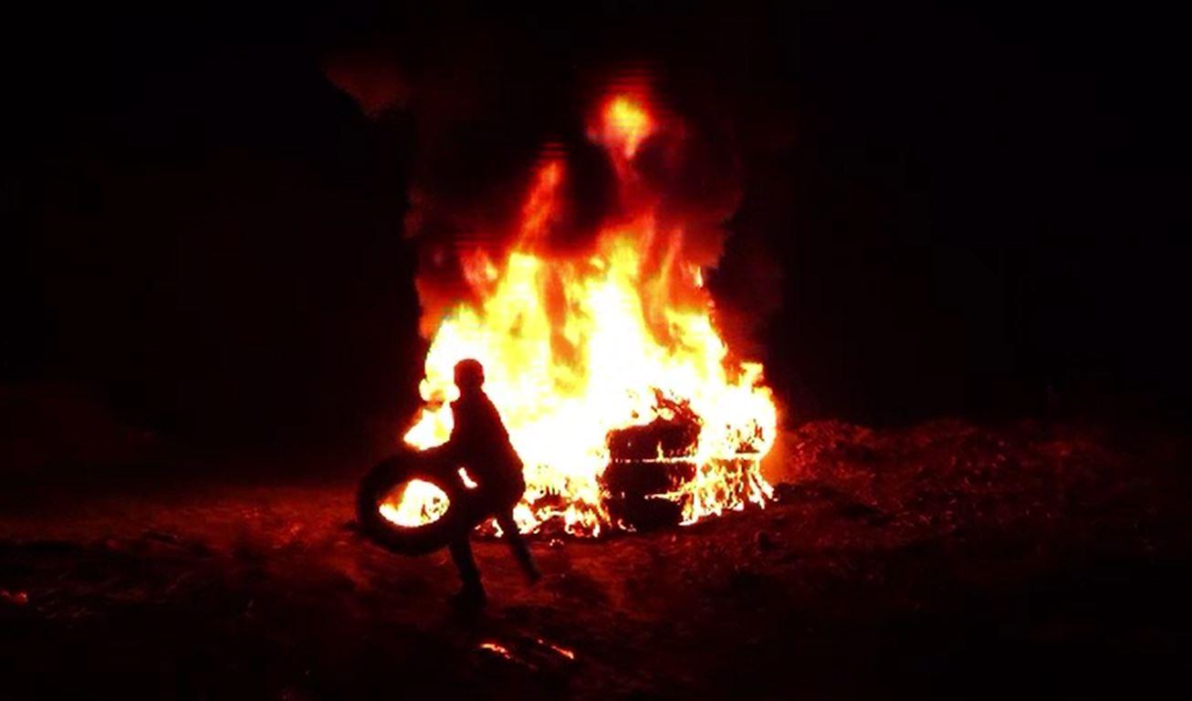 Sărbătoarea Sfântului Gheorghe, întâmpinată cu focuri ritualice pe Valea Bârgăului