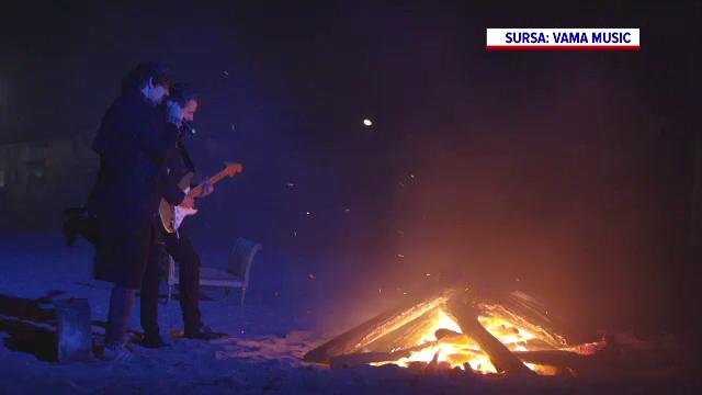 """Trupa Vama a urcat din nou pe scenă, pe litoral. Fanii au urmărit concertul din propria casă: """"Vor fi și zile mai bune"""""""