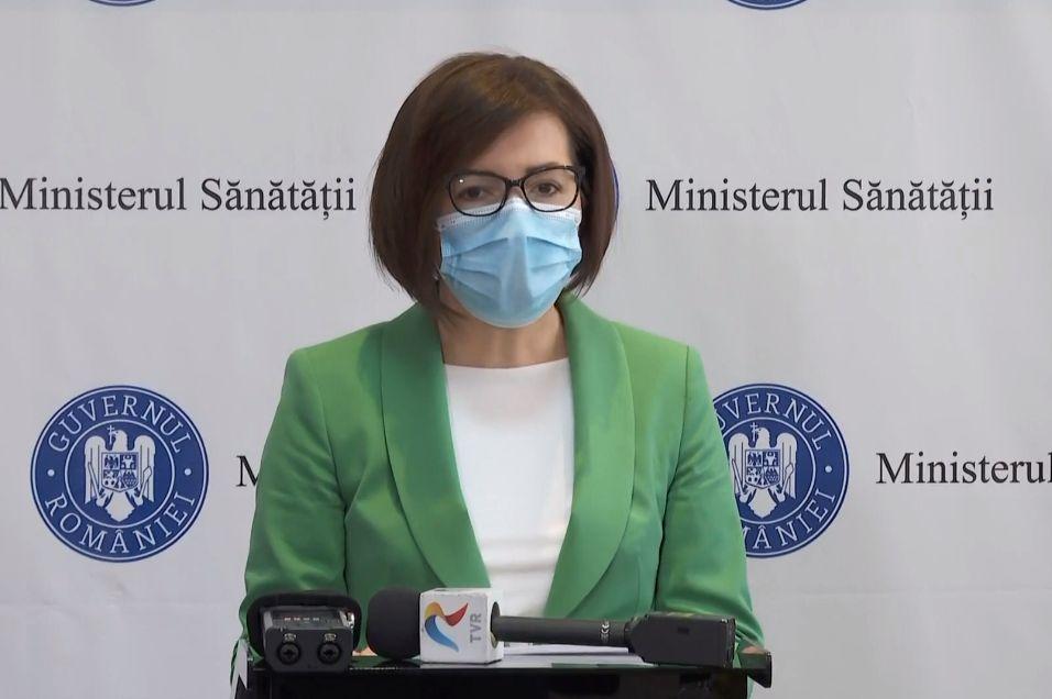 """Sunt din nou paturi ATI libere, 55 numai în București. """"Numărul de infectări noi respectă realitatea"""" a spus Ioana Mihăilă"""