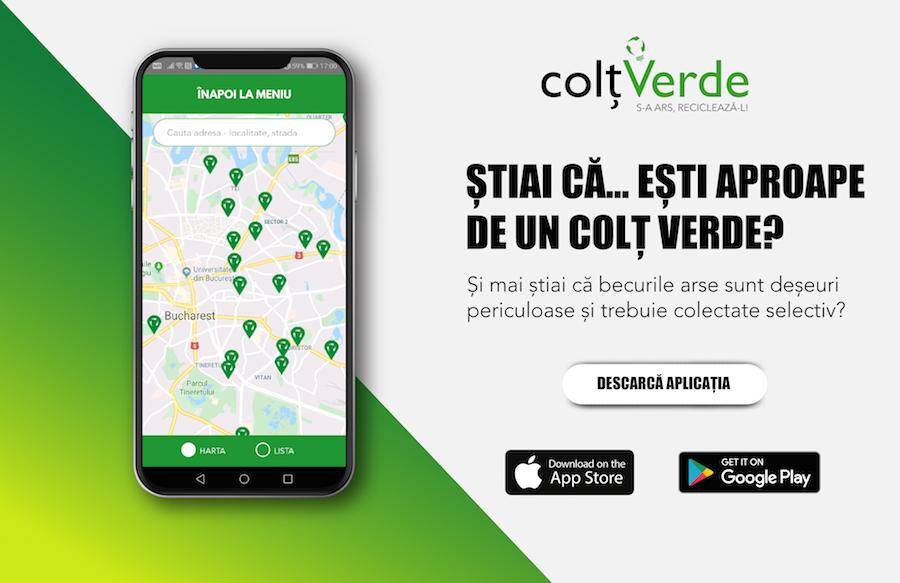 iLikeIT. Aplicația ColțVerde oferă o hartă a punctelor de colectare a deșeurilor electrice