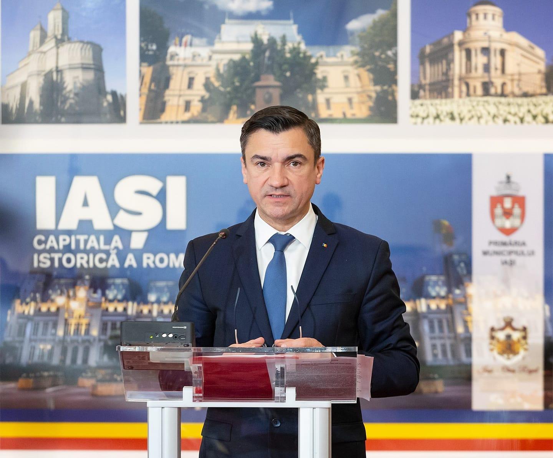 """Primarul Iașiului, Mihai Chirica, s-a retras de la șefia PNL Iași: """"Sunt nevinovat"""""""